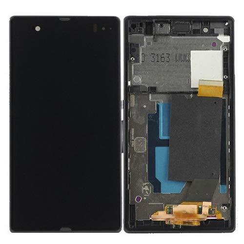 Handy-LCD-Bildschirm LCD Display + Touch Panel mit Rahmen für Sony Xperia Z / L36H / C6603 / C6602 (Schwarz) LCD Bildschirm (Farbe : Black) (Sony Xperia Z L36h Zubehör)