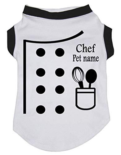 Petitebelle Persönliches Chef weiß Baumwolle Shirt Puppy Hund -