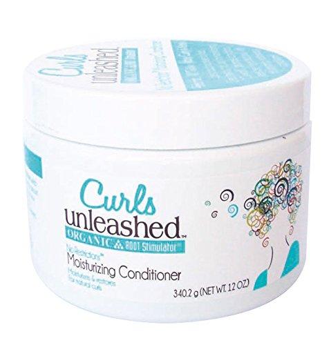 Organic Root Stimulator Curls Unleashed Après-shampoing hydratant 340 g