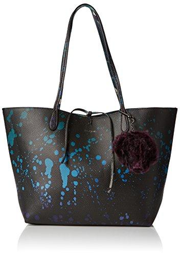 Desigual Bols_capri Split. 5011. U sac à bandouliére, femme, Bleu (Navy), 13x28x30 cm (b x h t)