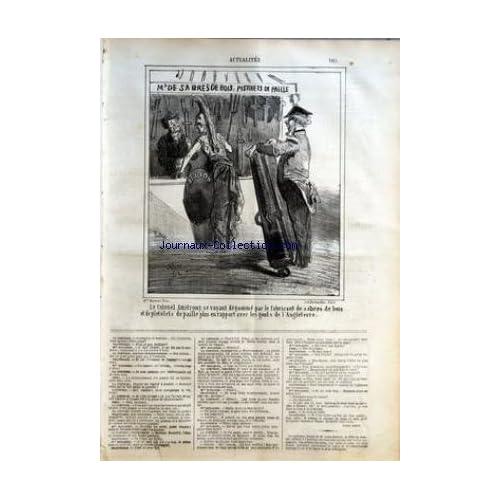 CHARIVARI (LE) du 07/07/1864 - JULES BARBIER - LOUIS LEROY - AU MEXIQUE PAR GIRARD - LA LIBERTE DE LA PRESSE A LA LIBERTE DES THEATRES - P. VERON