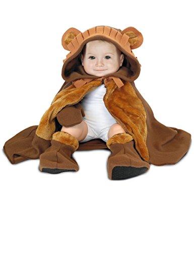 Rubie's Rubies-154681-Kostüm für Babys-Cape, Hut, Handschuhe und Hausschuhe-Löwe-Einheitsgröße