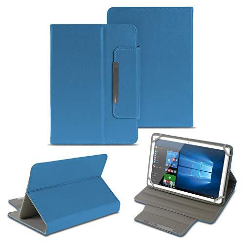 NAUC Universal Tasche Schutz Hülle 10-10.1 Zoll Tablet Schutzhülle Tab Case Cover Bag, Farben:Blau, Tablet Modell für:Kiano Slim Tab 10.1