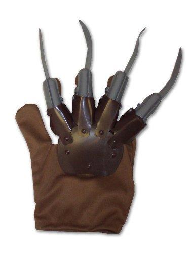 Henbrandt Braun Freddy Krueger Handschuh Mit Grauer Kunststoff (England Dies Ist Kostüm Ideen)