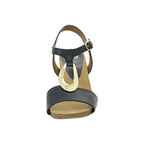 Caprice 28308-001, Sandali donna Nero (nero)