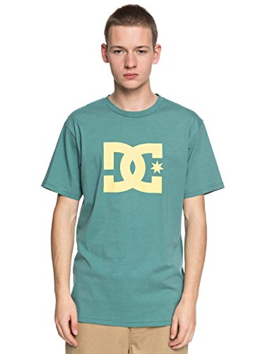 DC Apparel Herren Ss Star-T-Shirt, Schwarz, XS Vert/Vert/Jaune