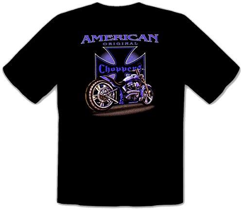 Motorrad T-shirt American original Choppers Fb schwarz Größe XXL -