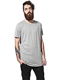 Urban Classics Shaped Long Tee, Camiseta para Hombre