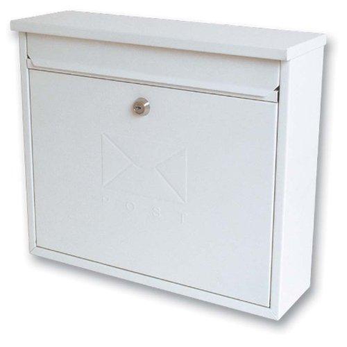 sterling-mb02-elegance-post-box-white