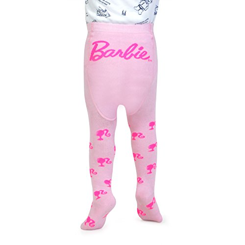 Barbie Knitted Baby Tights by Bonjour (02 (2-4 Years), Baby Pink)