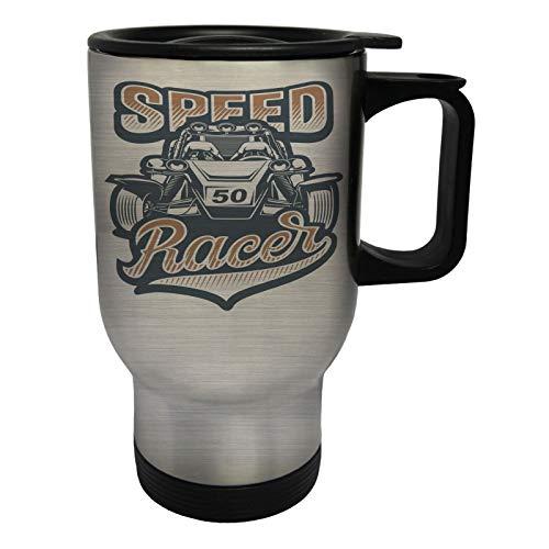 Speed Racer 50 Car Edelstahl Thermischer Reisebecher 14oz 400ml Becher Tasse ff822ts (Speed Racer-becher)