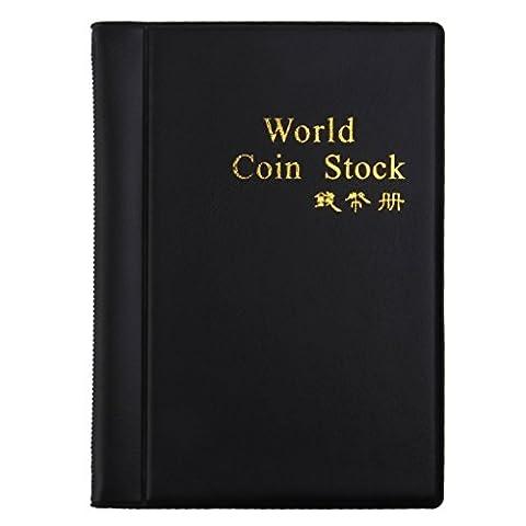 Yeah67886durable 120pièce de monnaie Porte monnaie Collector collectionner World Coin