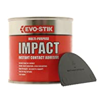 Evo-Stik 250ml Impact Multi-Purpose Instant Contact Adhesive in Tin 348103