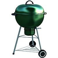 Dolcevita BBQ bc57V fumoir Barbecue à charbon de bois, vert, 70x 65x 105cm