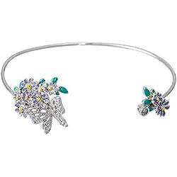 Mes-bijoux.fr Armband Sommergarten Silber