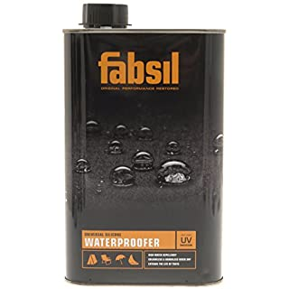 Fabsil GRA-FAB49 Waterproofer for Tents, Black, 5 Litre