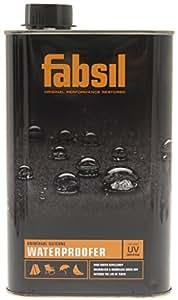 Fabsil Peinture sur Proofer Protection UV, mixte, Noir, 1 litre