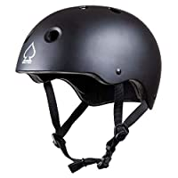 Pro Tec Helmet Prime Skateboard Helmet, Adult Unisex, Black (Black), XS/S