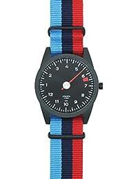 Rot und lila gestreiftes Nato Uhrenarmband