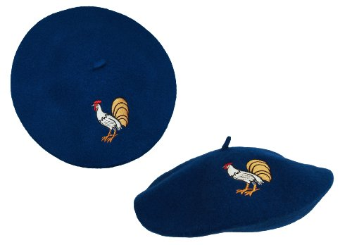 Beret France - Collection supporter Rugby - Taille Unique Ado / Adulte