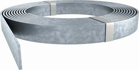 OBO Bettermann 5052 DIN 30X3.5 Flachleiter Stahl verzinkt für Erdreich 30 Meter