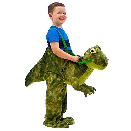 Vestito Dino Dress Up Dinosauro per Bambini 3-7 anni Costume Carnevale Feste a Tema Gioco di Ruolo