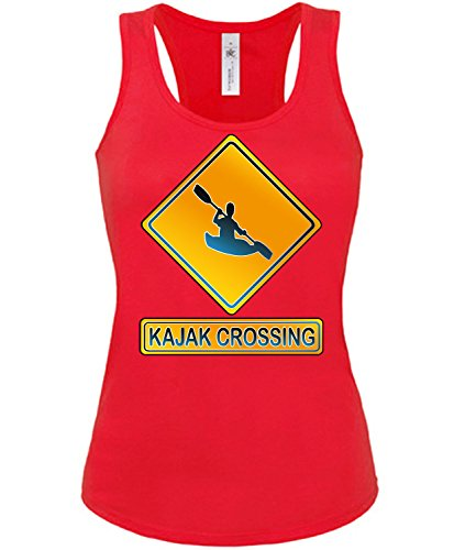 KAJAK CROSSING 2266 Damen Tank Top (TT-F-R) Gr. XL