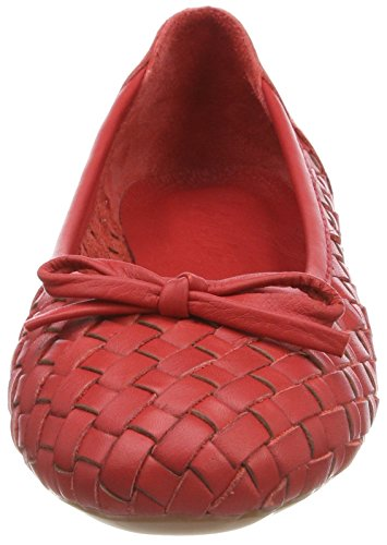 Andrea Conti Damen 0025811 Geschlossene Ballerinas Rot (Rot)