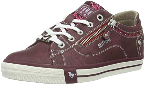 Mustang Damen 1146-301 Sneakers, Rot (55 Bordeaux), 40 EU