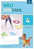 Welt der Zahl - Ausgabe 2016 für Baden-Württemberg: Arbeitsheft 4 -