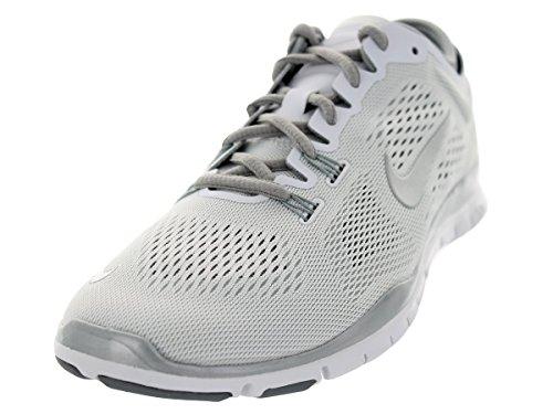 Nike - Nike Free 5.0 Wmns Tr Fit 5 Prt Scarpe Sportive Nere Verdi Tela 704695 Bianco