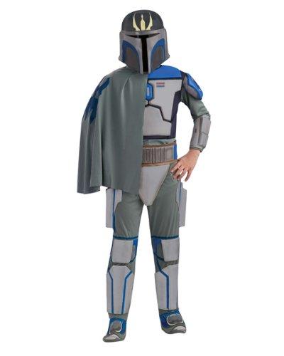 Star Wars Deluxe Kinder Kostüm Pre Vizsla Größe M 5 bis 7 (Kostüm Pre Vizsla Deluxe)