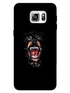 Samsung S6 Edge Plus Cover - Wild Dog - For Dog Lovers - Designer Printed Hard Shell Case