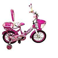 دراجة اطفال مقاس 12 انش لون زهري من سويمينج