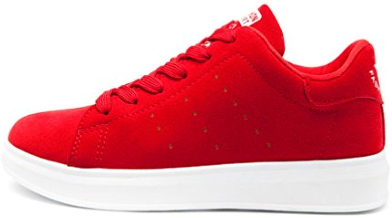 la dentelle en daim vecjunia mode femme faible plus plat antidérapantes b06x6fxvf1 baskets chaussures antidérapantes plat parent 1056a0