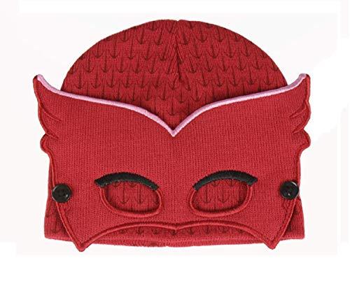 PJ máscaras 2200002528Amaya Owlette 3d máscara efecto niños de gorro, talla única