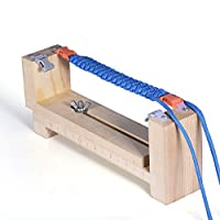 Knüpfhilfe per Paracord Corde per la produzione di braccialetti / collane e altro ancora. Dispositivo Paracord del PRECORN marchio