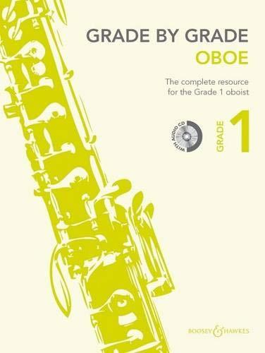 Grade by Grade - Oboe: Grade 1. Oboe und Klavier. Ausgabe mit CD.
