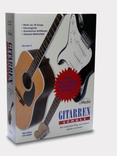 eMedia Gitarren Schule. Volume 1. Version 5: Der einfachste Weg, um Gitarre spielen zu lernen (Gitarre Die Sie Lernen)