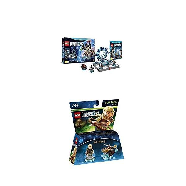 LEGO - Starter Pack Dimensions (Wii U) + LEGO Dimensions - El Señor De Los Anillos, Legolas 1