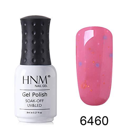 HNM Gel Semi-Permanent Fromage De Longue Durée Bonbons Couleur Soak Off Gel Vernis À Ongles UV LED 8ML HNM-6460