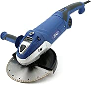 Ford 2500 Watts 230mm Big Angle Grinder - Paddle Switch, Corded Electric 9 inch for Metal / Steel / Concrete /