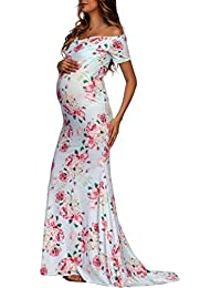 K-youth Vestidos Largos Embarazada Fiesta Vestido de Maternidad Mujer Fiesta Largos Boda Mujer Embarazada Vestidos Faldas de…