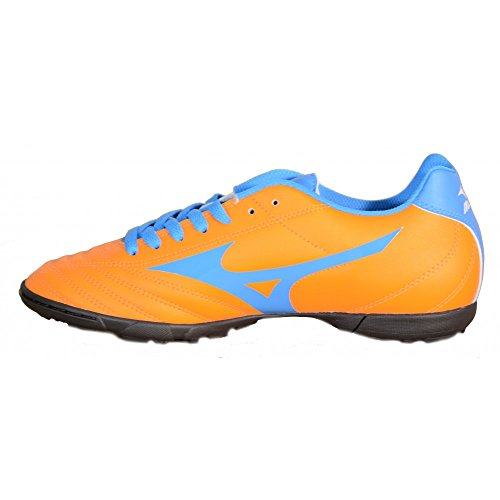 Mizuno - Mizuno Fortuna 4 AS Hallenfußballschuhe Orange Leder 158154 Orange