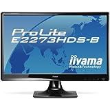 "Iiyama ProLite E2273HDS-B1 Ecran PC LED 22"" VGA/DVI HDMI Noir"