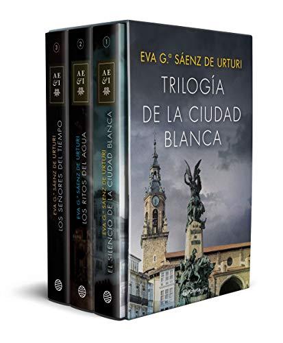 Estuche trilogía La ciudad blanca par Eva García Sáenz de Urturi