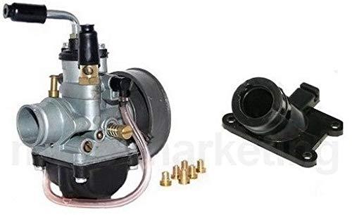 Unbranded 90cc Modifica Gruppo Termico CARBURATORE Kit per Fantic Caballero 50 AM6 R.