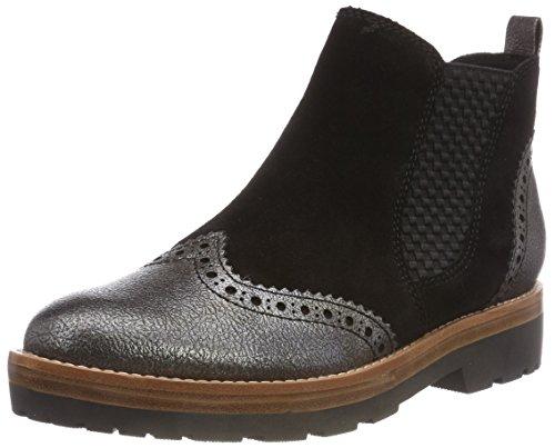 Marco Tozzi Premio Damen 2-2-25451-31 096 Chelsea Boots, Schwarz (Black Ant.Comb, 38 EU