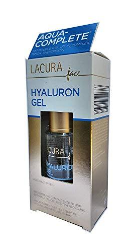 LACURA face Hyaluron GEL, Hochkonzentriertes Serum mit Hyaluronsäure und Mimox 30 ml