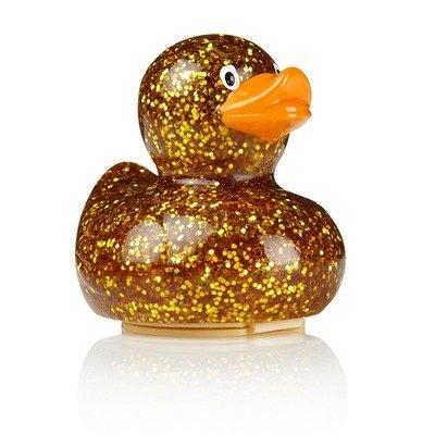 Lippenbalsam-Ente - 11großartige Lippenbalsame zur Auswahl - Weihnachtsgeschenk Gr. Einheitsgröße, Gold Glitter - Creme Brule